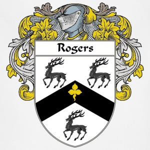 Rogers Coat of Arms/Family Crest - Adjustable Apron