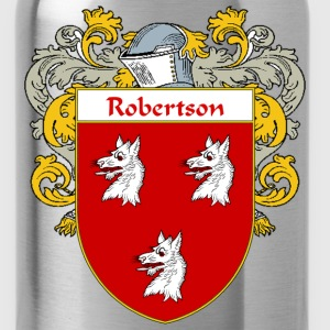 Robertson Coat of Arms/Family Crest - Water Bottle
