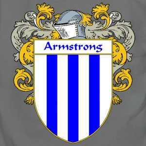 Armstrong Coat of Arms/Family Crest - Unisex Fleece Zip Hoodie by American Apparel