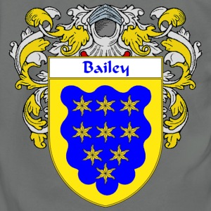 Bailey Coat of Arms/Family Crest - Unisex Fleece Zip Hoodie by American Apparel