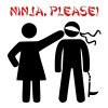 NINJA, PLEASE! T-Shirts - Men's Premium T-Shirt