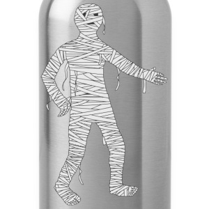 Mummy Cartoon - Water Bottle