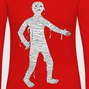 Mummy Cartoon - Women's Premium Long Sleeve T-Shirt