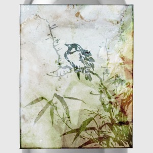 Japanese Bird Art Women's T-Shirts - Water Bottle
