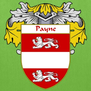 Payne Coat of Arms/Family Crest - Tote Bag