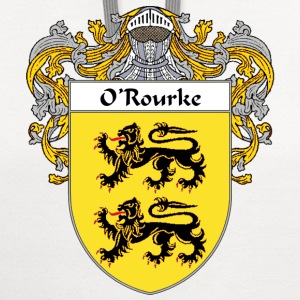 O'Rourke Coat of Arms/Family Crest - Contrast Hoodie