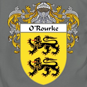 O'Rourke Coat of Arms/Family Crest - Unisex Fleece Zip Hoodie by American Apparel
