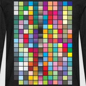 Color Squares Women's T-Shirts - Men's Premium Long Sleeve T-Shirt
