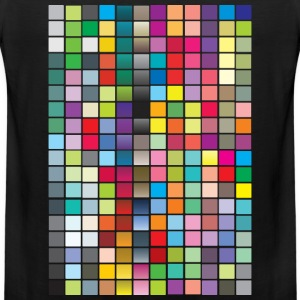 Color Squares Women's T-Shirts - Men's Premium Tank