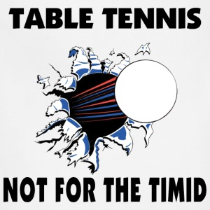 Table Tennis T-Shirt - Adjustable Apron