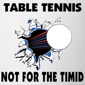 Table Tennis T-Shirt - Coffee/Tea Mug