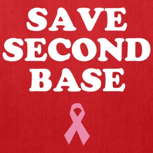Save Second Base T-Shirts - Tote Bag