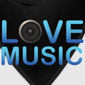 Love Music - Bandana