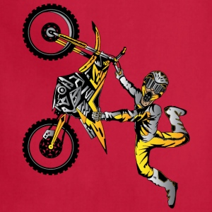 Suzuki Motocross Dirt Biker Kids' Shirts - Adjustable Apron