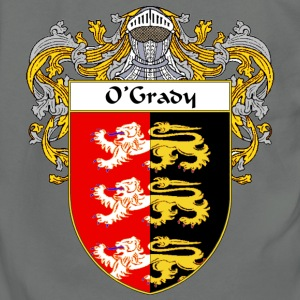 O'Grady Coat of Arms/Family Crest - Unisex Fleece Zip Hoodie by American Apparel