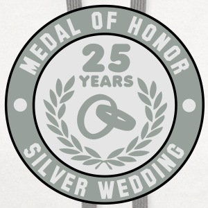 MEDAL OF HONOR 25th SILVER WEDDING 3C T-Shirt - Contrast Hoodie