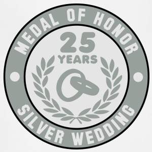 MEDAL OF HONOR 25th SILVER WEDDING 3C T-Shirt - Adjustable Apron