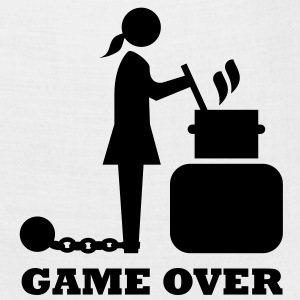game over cooking woman bachelorette bachelor   T-Shirts - Bandana