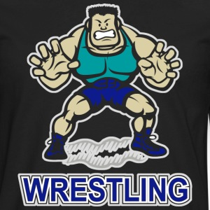 Wrestling T-Shirt - Men's Premium Long Sleeve T-Shirt