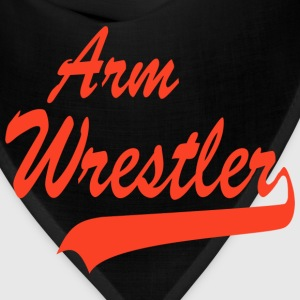 Arm Wrestler T-Shirt - Bandana