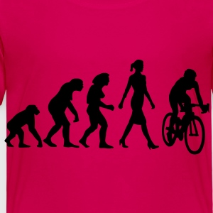evolution_radfahrerin_102012_a_1c Kids' Shirts - Toddler Premium T-Shirt