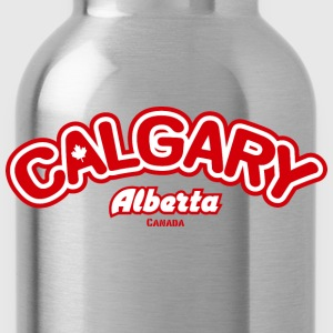 Calgary Leaf American Apparel T-Shirt - Water Bottle