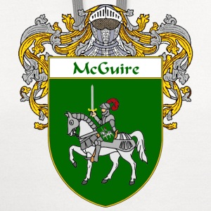 McGuire Coat of Arms/Family Crest - Contrast Hoodie