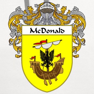 McDonald Coat of Arms/Family Crest - Contrast Hoodie
