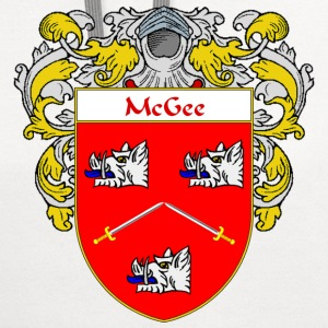 McGee Coat of Arms/Family Crest - Contrast Hoodie