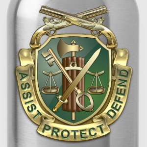 MP Regimental Insignia - Water Bottle