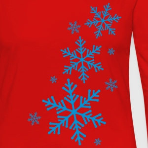 Snowflake T-Shirts - Women's Premium Long Sleeve T-Shirt