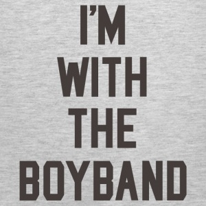 I'm with the Boyband Women's T-Shirts - Men's Premium Tank