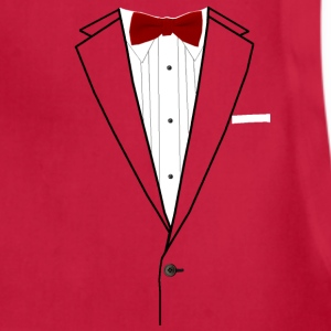 Tuxedo Red Bowtie Baby & Toddler Shirts - Adjustable Apron