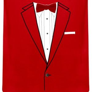 Tuxedo Red Bowtie Baby & Toddler Shirts - Men's Premium Tank