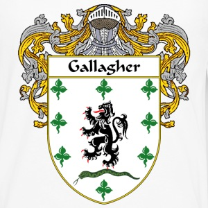 Gallagher Coat of Arms/Family Crest - Men's Premium Long Sleeve T-Shirt