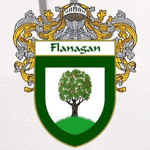 Flanagan Coat of Arms/Family Crest - Contrast Hoodie