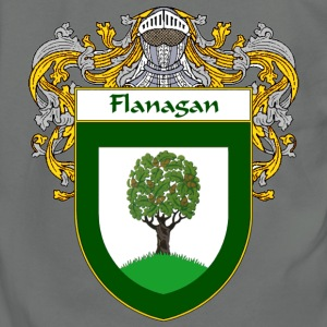 Flanagan Coat of Arms/Family Crest - Unisex Fleece Zip Hoodie by American Apparel
