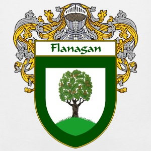 Flanagan Coat of Arms/Family Crest - Men's Premium Tank