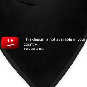 Design not available in your country - Bandana