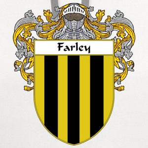 Farley Coat of Arms/Family Crest - Contrast Hoodie