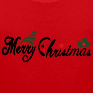Merry Christmas Men's Heavyweight T-Shirt - Men's Premium Tank