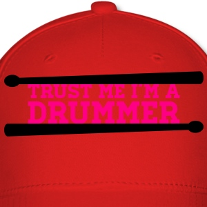 I am with the drummer T-Shirts - Baseball Cap