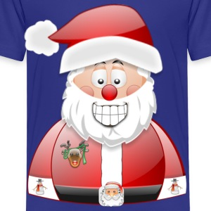 Santa naughty but nice List - Toddler Premium T-Shirt