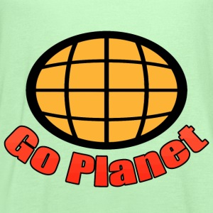 Go Planet - Captain - Planet - Planeteers T-Shirts - Women's Flowy Tank Top by Bella