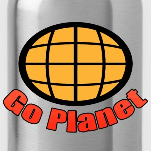Go Planet - Captain - Planet - Planeteers T-Shirts - Water Bottle