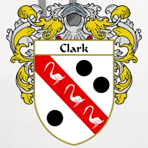 Clark Coat of Arms/Family Crest - Contrast Hoodie