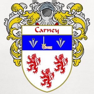 Carney Coat of Arms/Family Crest - Contrast Hoodie