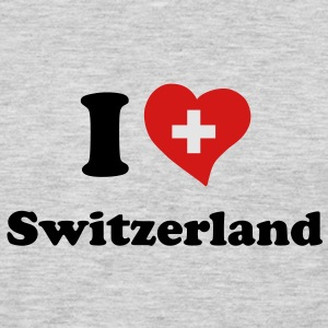 I love Switzerland T-Shirts - Men's Premium Long Sleeve T-Shirt