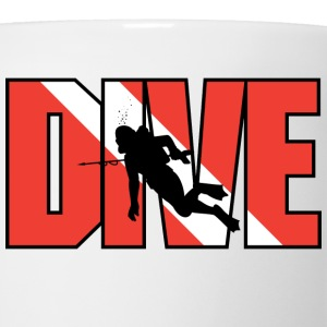 SCUBA Dive T-Shirt - Coffee/Tea Mug