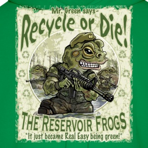 Recycle Frogs - Men's Hoodie
